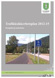Trafikksikkerhetsplan 2012-15 - Kongsberg Kommune