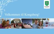 Velkommen til Kongsberg.pdf - Kongsberg Kommune