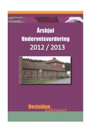 Informasjon om underveisvurdering ved Vestsiden ungdomsskole