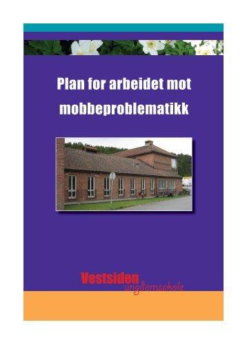 Plan for arbeidet mot mobbeproblematikk - Kongsberg Kommune