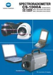 CS-1000A/S/T Catalogue Download - Konica Minolta
