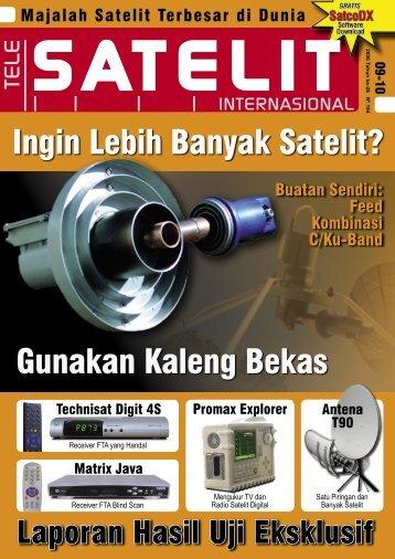 Ingin Lebih Banyak Satelit? - TELE-satellite International Magazine