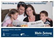 Rhein-Zeitung, die Nr. 1 im n
