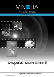 DiMAGE Scan Elite II - Konica Minolta Photo Imaging Europe GmbH