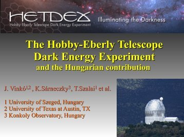 The Hobby-Eberly Telescope Dark Energy Experiment
