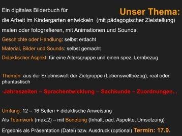 aufgabenstellung und impressum - Konkret-konstruktiv.de