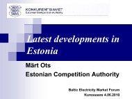 Mr Märt Ots - Konkurentsiamet