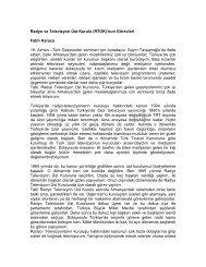 Radyo ve Televizyon Üst Kurulu (RTÜK)'nun Görevleri Fatih Karaca ...