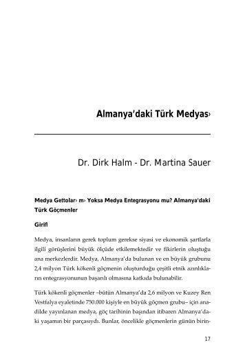 Almanya'daki Türk Medyas›