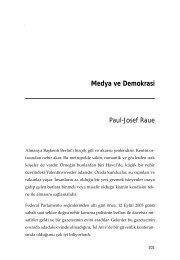 Medya ve Demokrasi Paul-Josef Raue - konrad adenauer vakfı
