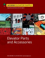 Starters and Contactors - Access  Elevator Supply