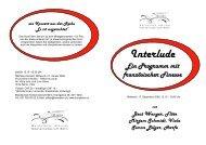 Interlude - Musikschule Konservatorium Bern