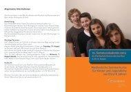 Kurse für Kinder und Jugendliche von 8 bis 18 Jahren - Musikschule ...