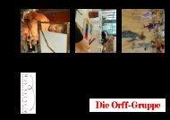 Orff Flyer Bovey, Mai 2009_def - Musikschule Konservatorium Bern