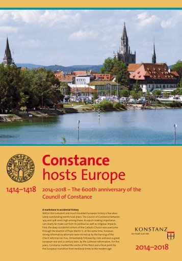 Constance hosts Europe