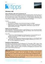 Wireless LAN - Konsumentenforum kf