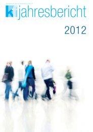 Jahresbericht 2012 (PDF) - Konsumentenforum kf