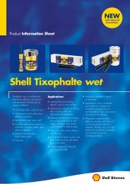 Shell Tixophalte wet - Coral