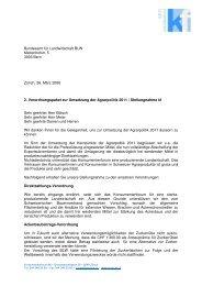 2. Verordnungspaket zur Umsetzung der Agrarpolitik 2011