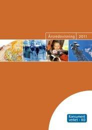 Årsredovisning 2011 (PDF) - Konsumentverket