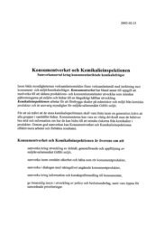 Kemikalieinspektionen och Konsumentverket (PDF)
