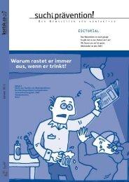 Ausgabe 1 - kontakt+co Suchtprävention Jugendrotkreuz