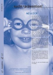 Ausgabe 0 - kontakt+co Suchtprävention Jugendrotkreuz