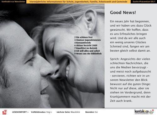 Good News! - kontakt+co Suchtprävention Jugendrotkreuz