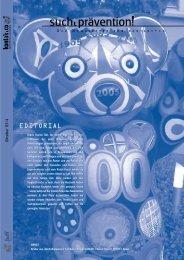 Ausgabe 4 - kontakt+co Suchtprävention Jugendrotkreuz