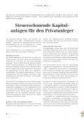 Steuerschonende Kapitalanlagen - Seite 4