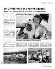 Ein Dorf für Waisenkinder in Uganda - Kontinente