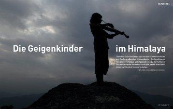 Die Geigenkinder im Himalaya - Kontinente