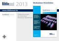 Mediadaten kontinenz aktuell - Deutsche Kontinenz Gesellschaft