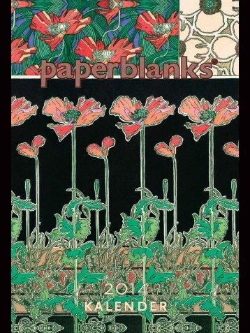Paperblanks Kalender - Kontur-Pur