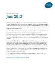 Presseinformation zum Download (167 KB) - Konzerthaus Berlin