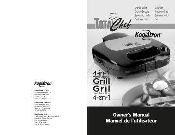 Owner's Manual Manuel de l'utilisateur - Koolatron