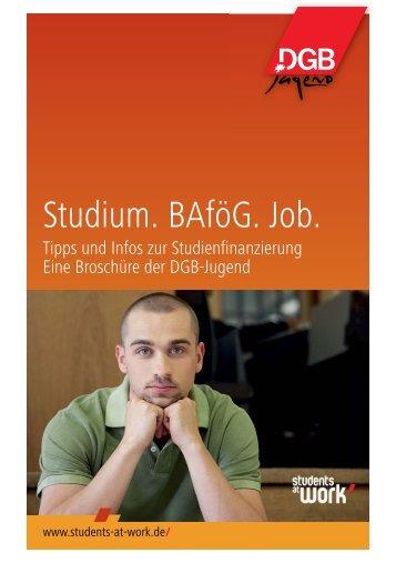 studiumbafo gjob2010_Layout 1 - Kooperationsstelle Hochschulen ...