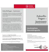 Veranstaltungflyer - Kooperationsstelle Hochschulen ...