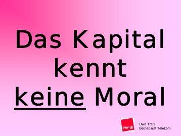 Uwe Tratz Betriebsrat Telekom