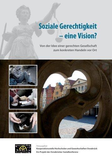 Soziale Gerechtigkeit – eine Vision? - Kooperationsstelle Osnabrück