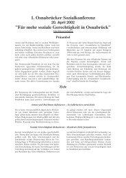 Resolution - Kooperationsstelle Osnabrück