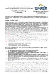 Kurzfassung Projekt nestor - Kooperationsstelle Osnabrück