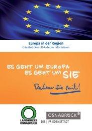 Euro Flyer 2013.indd - Kooperationsstelle Osnabrück