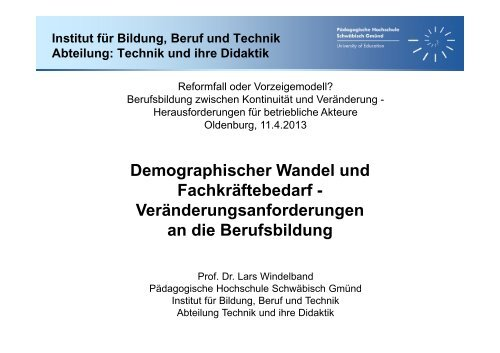 Vortragsmaterial - Kooperationsstelle Hochschule - Gewerkschaften
