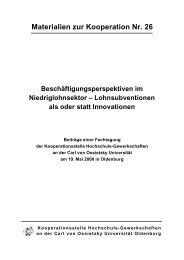 PDF-Dokument - Kooperationsstelle Hochschule - Gewerkschaften ...