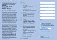 Einladungsflyer (pdf) - Kooperationsstelle Hochschule ...