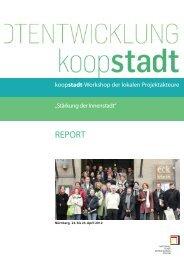 Report zu den Projektfamilienworkshops - Koopstadt