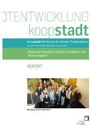 Report zu den Projektfamilien-Workshops - Koopstadt