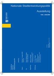 Nationale Stadtentwicklungspolitik Ausstellung - Koopstadt