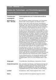 Ausbau der Technologie- und Dienstleistungszentren - Koopstadt